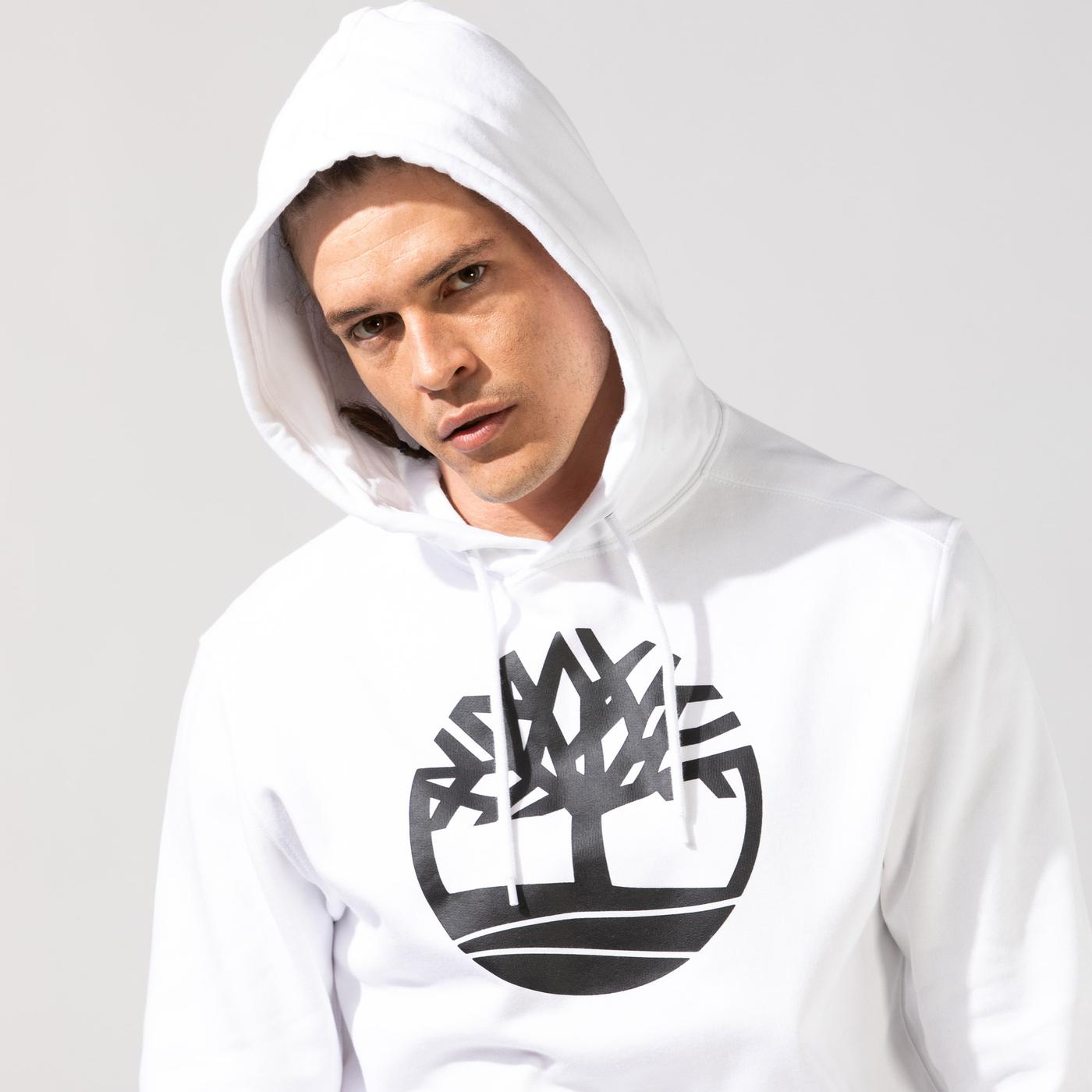 Timberland YC Core Tree Logo Pull Over Kapüşonlu Sweatshirt