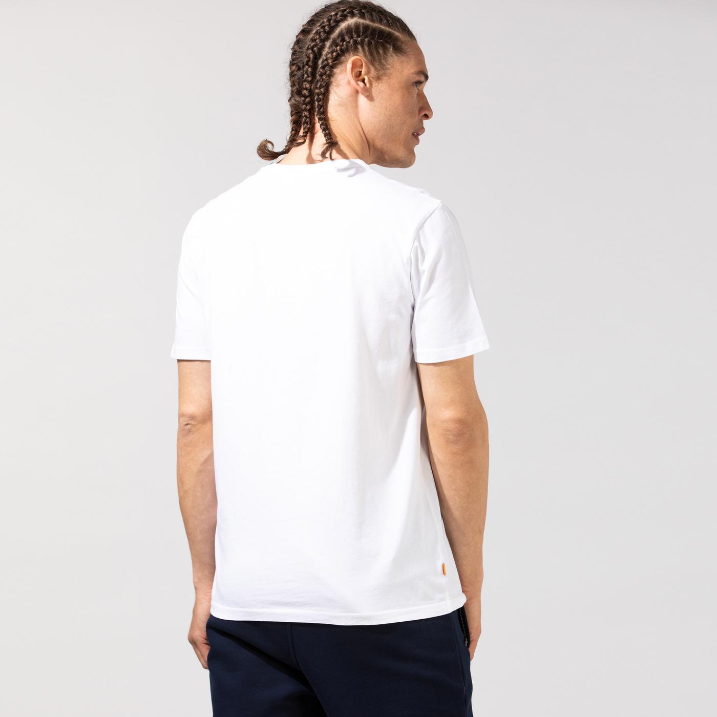 Timberland SS Kennebec River Tree Logo Erkek Beyaz T-Shirt