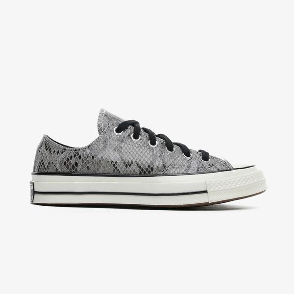 Converse Chuck 70 Archive Reptile Suede Kadın Gri Sneaker