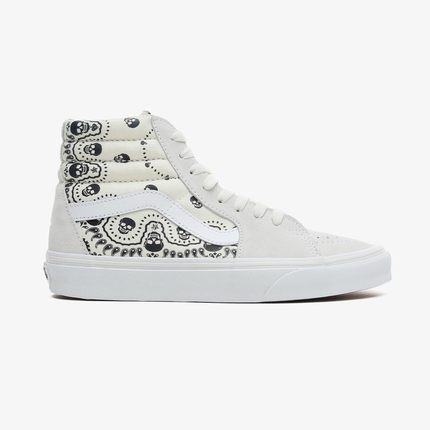 Vans SK8-Hi Kadın Beyaz Sneaker