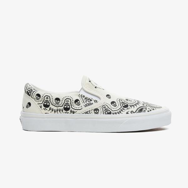 Vans Classic Slip-On Kadın Beyaz Sneaker