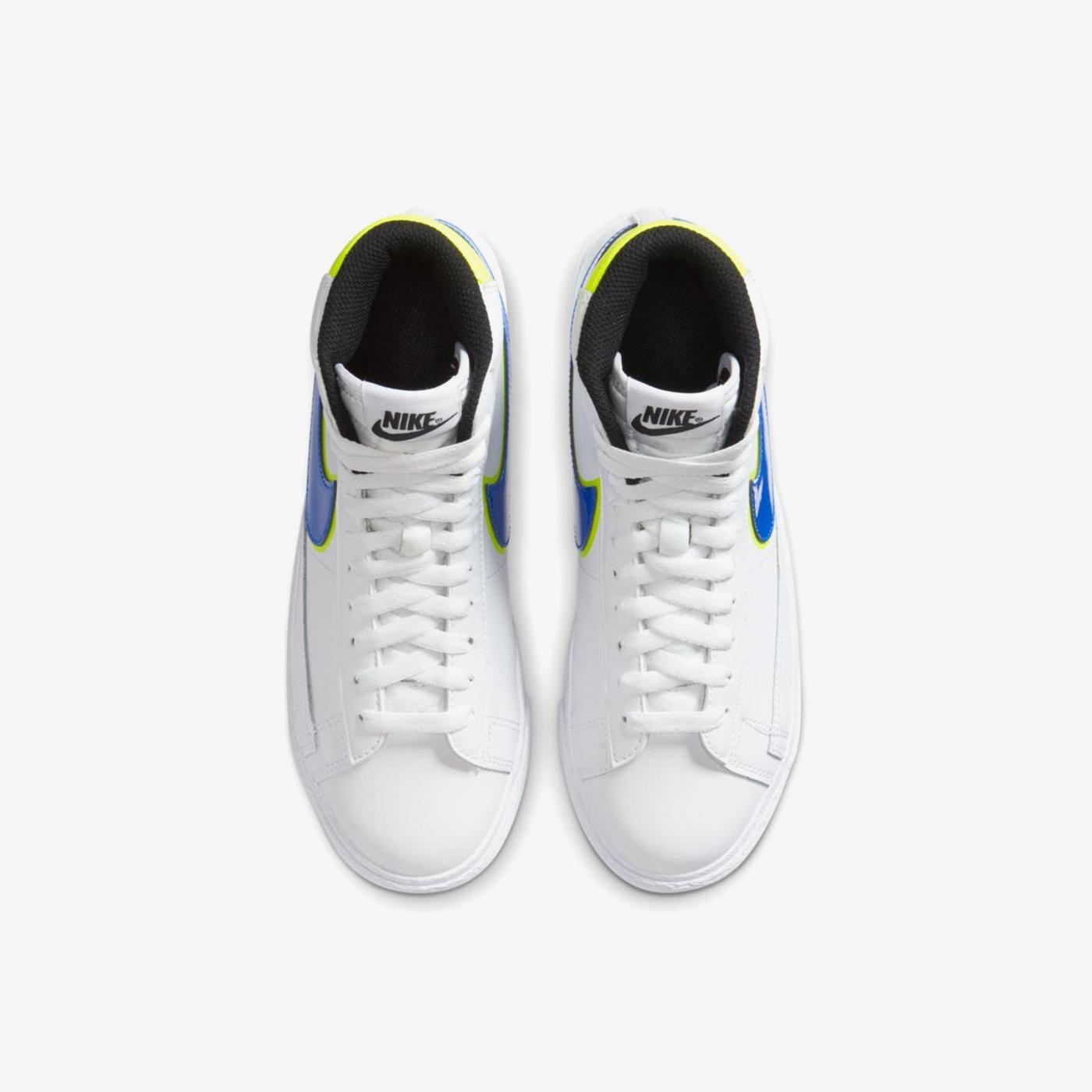 Nike Blazer Mid GS Kadın Beyaz Spor Ayakkabı