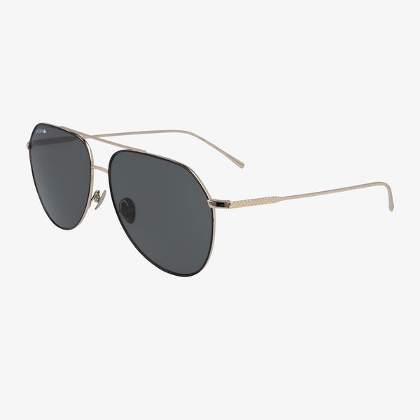 Lacoste Aviator Unisex Kahverengi Güneş Gözlüğü