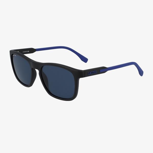 Lacoste Rectangle Erkek Mavi Güneş Gözlüğü