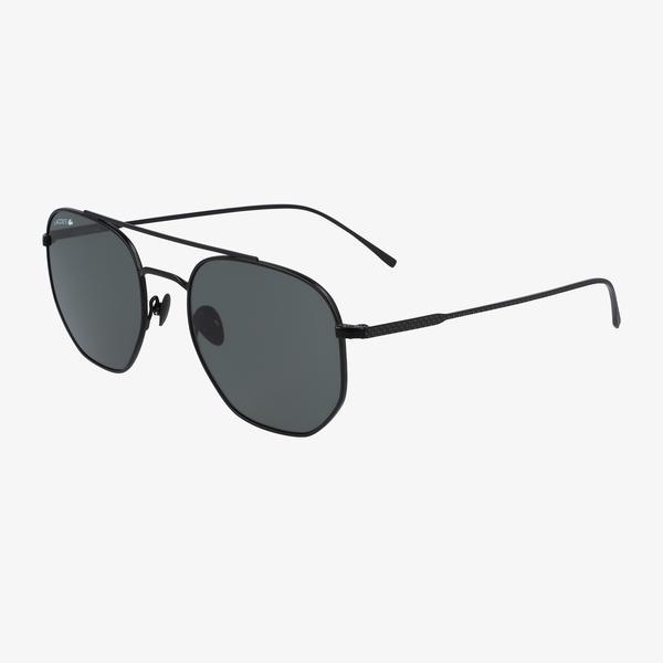 Lacoste Unisex Siyah Kare Çerçeveli Gözlük