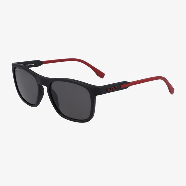 Lacoste Rectangle Erkek Bordo Güneş Gözlüğü