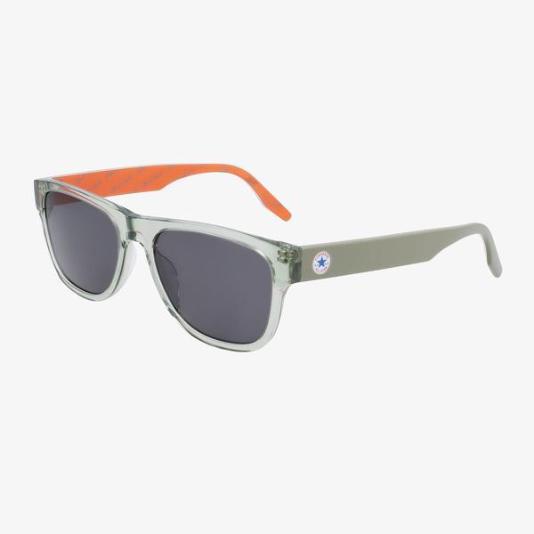 Converse Erkek Yeşil Dikdörtgen Çerçeveli Gözlük