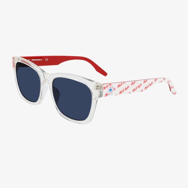 Converse Kadın Mavi Kare Çerçeveli Güneş Gözlüğü