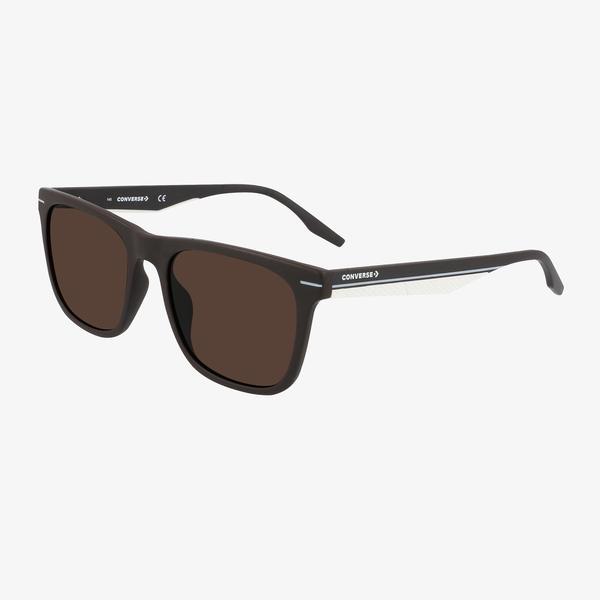 Converse Erkek Kahverengi Kare Çerçeveli Gözlük