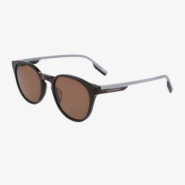 Converse Erkek Kahverengi Yuvarlak Çerçeveli Gözlük
