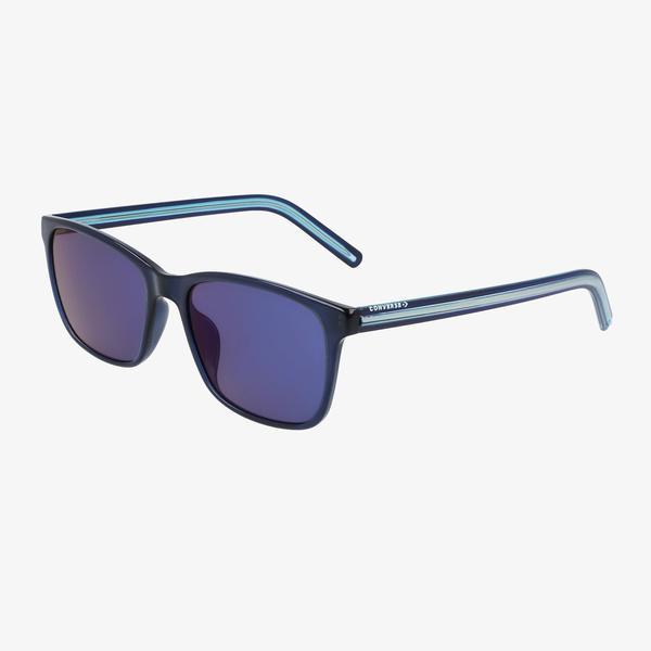 Converse Kadın Mavi Dikdörtgen Çerçeveli Güneş Gözlüğü