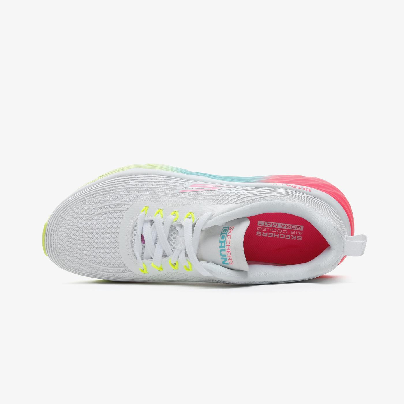 Skechers Max Cushioning Elite - Prism Kadın Beyaz Spor Ayakkabı