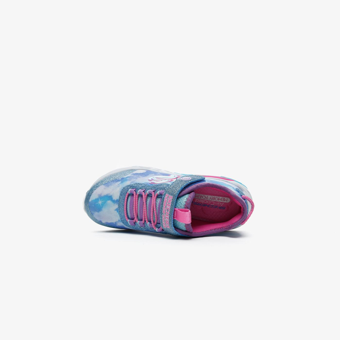 Skechers Rainbow Racer Çocuk Mavi Spor Ayakkabı