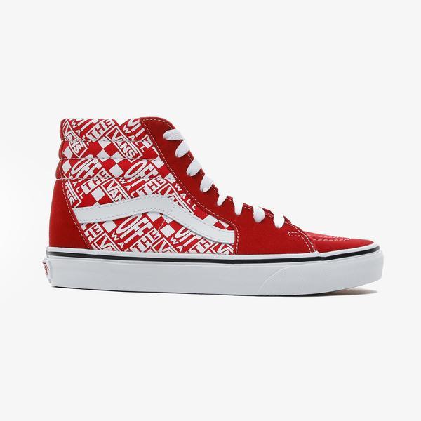Vans SK8-Hi Kadın Kırmızı Sneaker