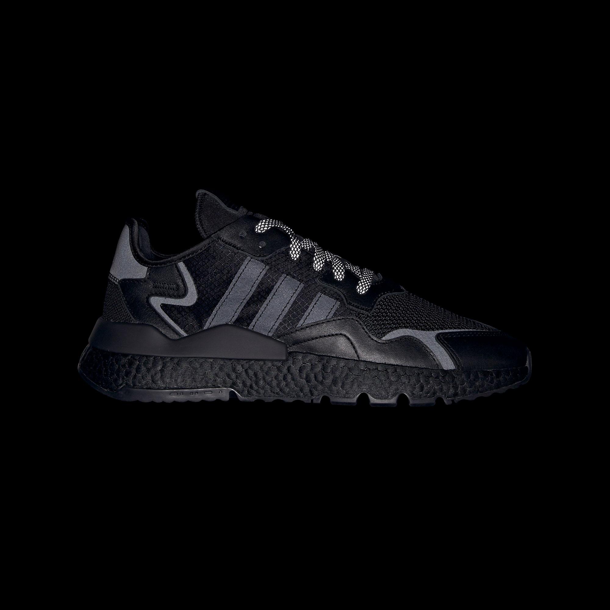 adidas Nite Jogger Unisex Siyah Spor Ayakkabı