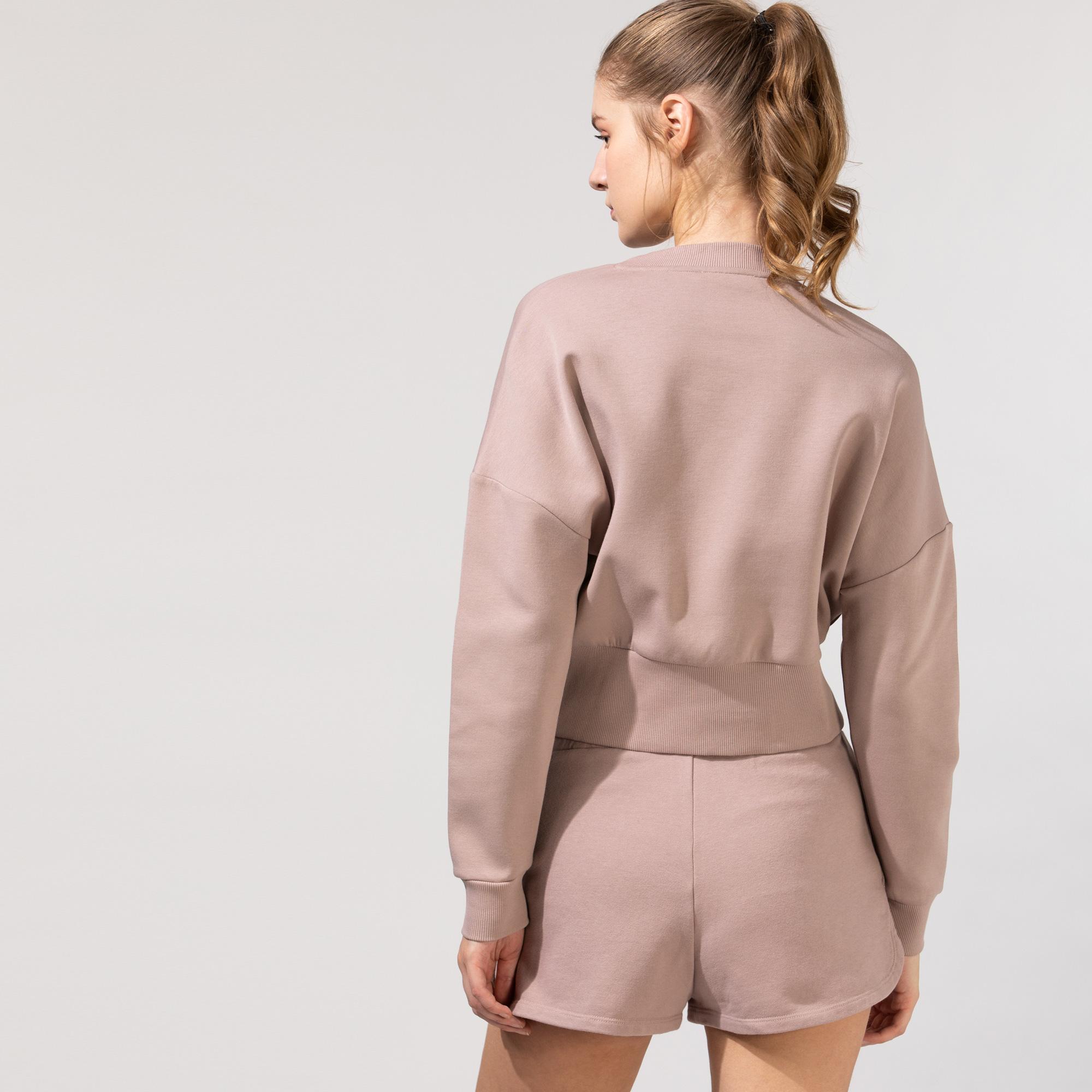 Guess Kadın Bej Sweatshirt