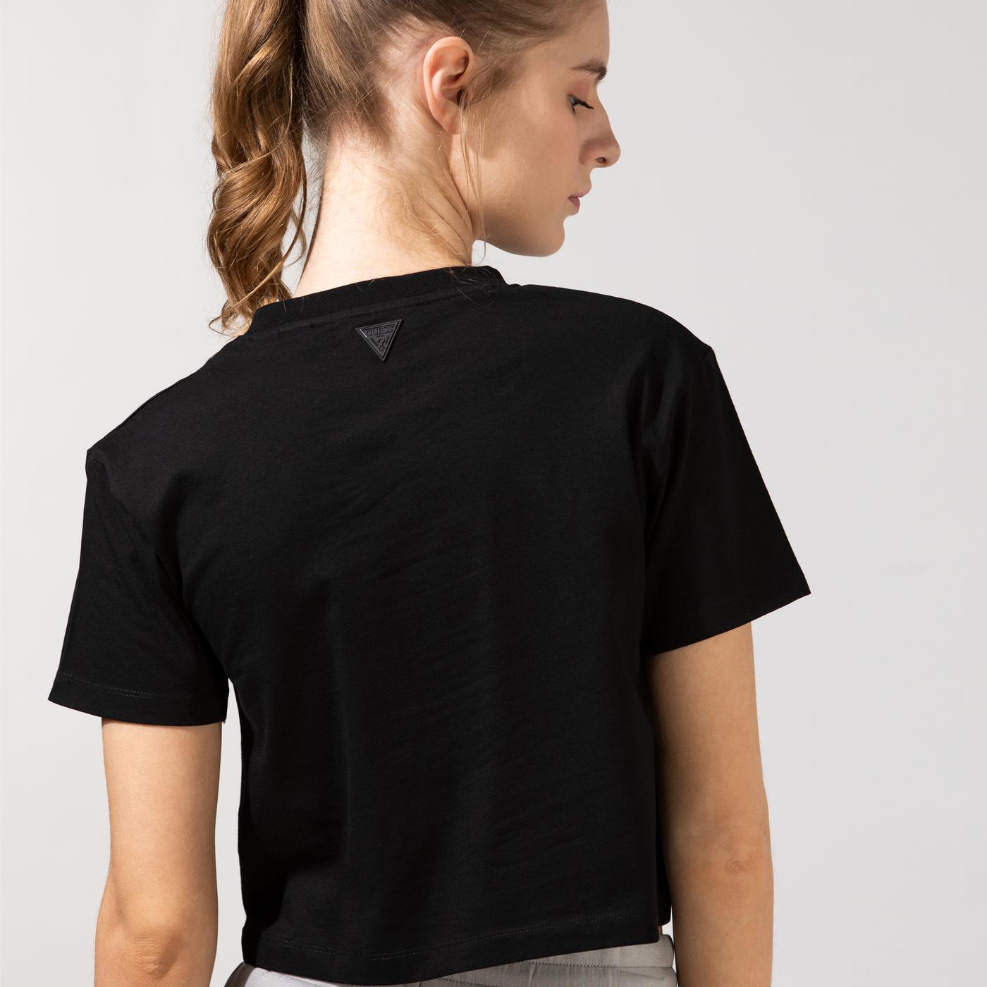 Guess Kadın Siyah T-Shirt