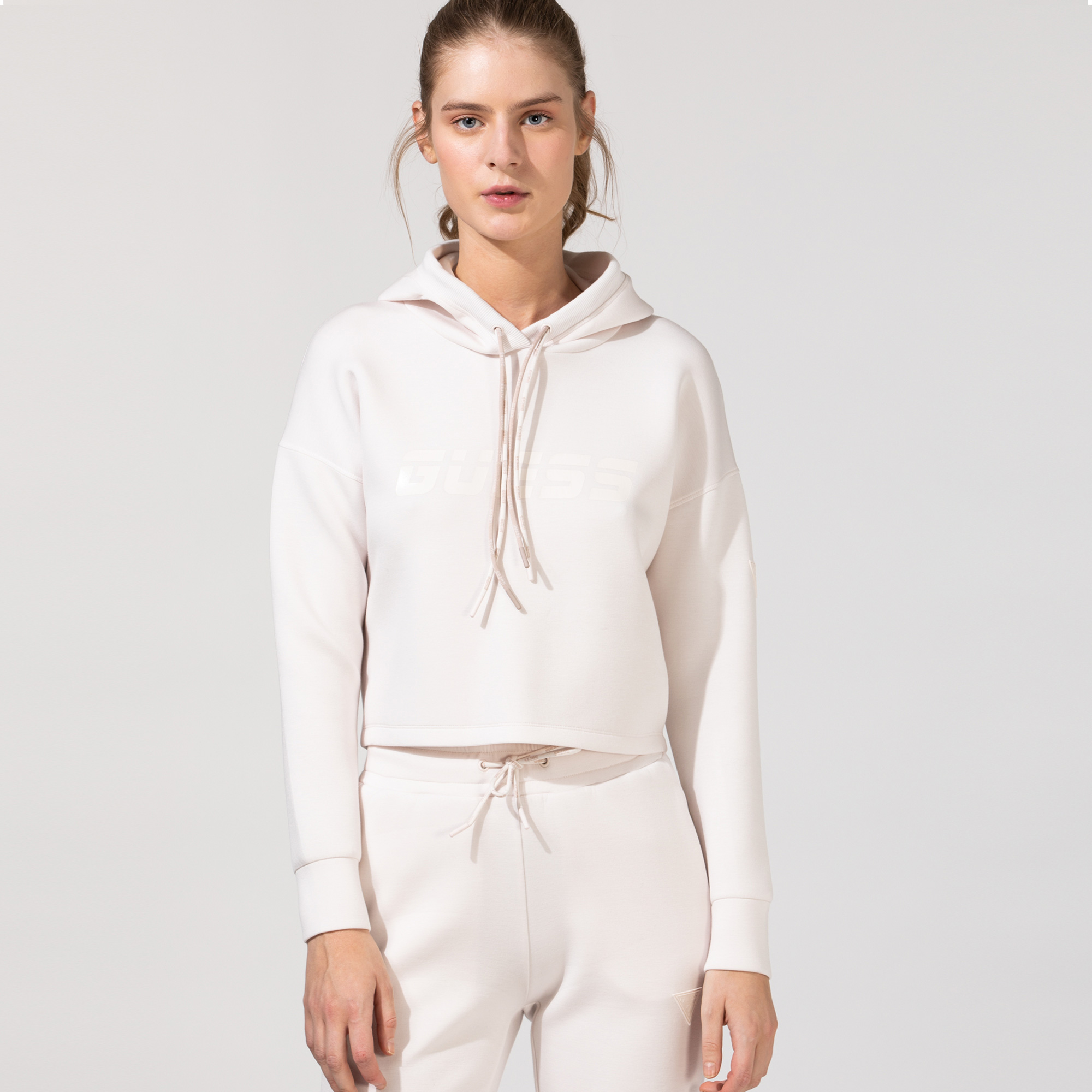 Guess Kadın Pembe Sweatshirt
