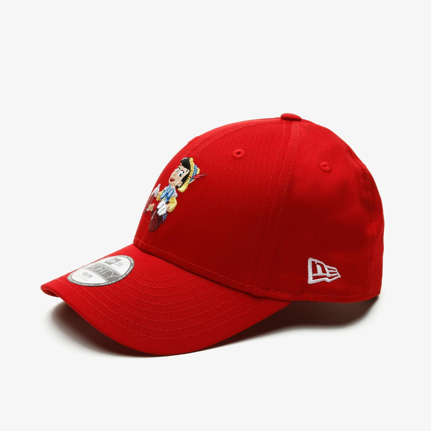 New Era CY Film Character 9Forty Pinocchio Çocuk Kırmızı Şapka