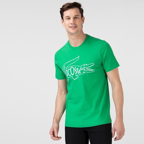 Lacoste Erkek Nakışlı Yeşil T-Shirt