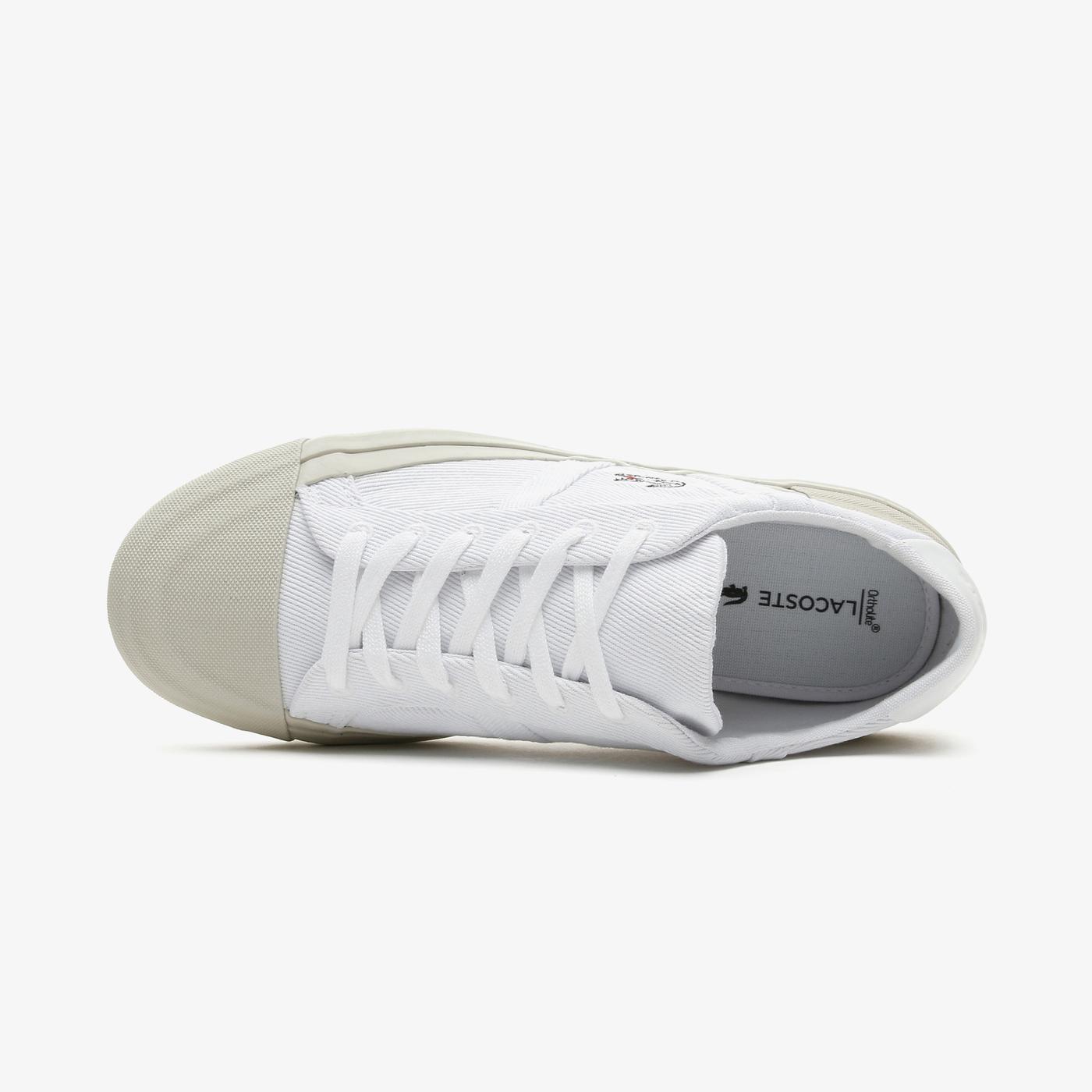 Lacoste Sideline 0921 1 Cfa Kadın Beyaz Spor Ayakkabı