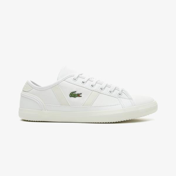 Lacoste Sideline 0721 1 Cfa Kadın Beyaz Spor Ayakkabı