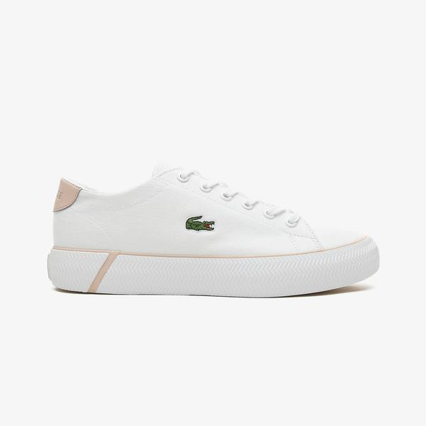 Lacoste Gripshot Bl 21 2 Cfa Kadın Beyaz - Açık Pembe Spor Ayakkabı