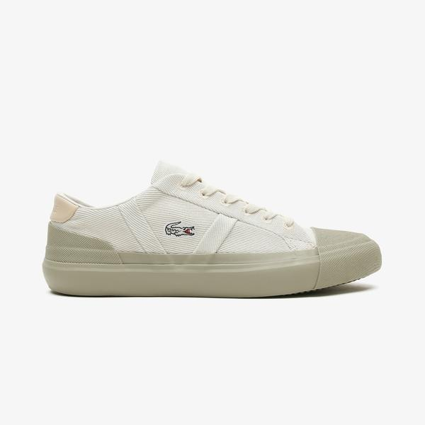 Lacoste Sideline 0921 1 Cfa Kadın Pembe - Beyaz Spor Ayakkabı