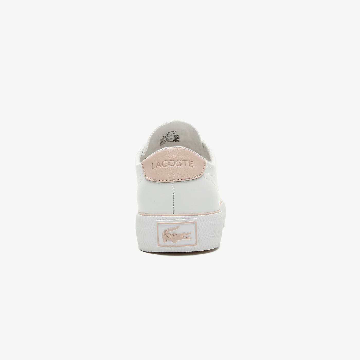 Lacoste Gripshot Bl 21 1 Cfa Kadın Beyaz - Açık Pembe Spor Ayakkabı