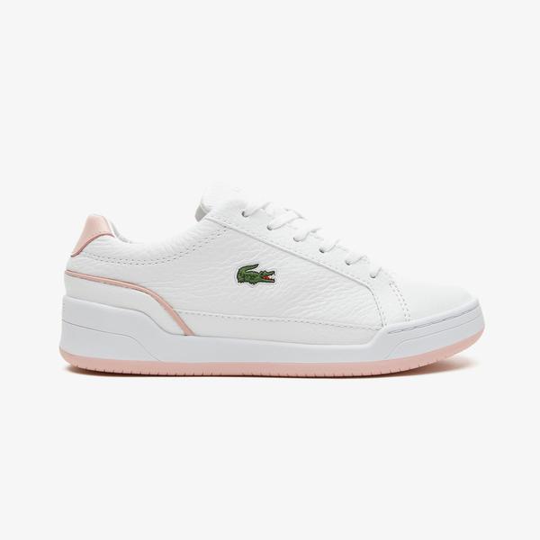Lacoste Challenge 0721 1 Sfa Kadın Beyaz - Açık Pembe Spor Ayakkabı