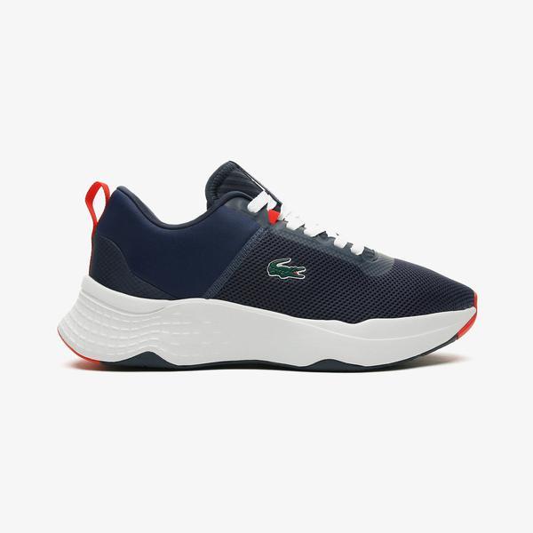 Lacoste Court-Drive 0721 1 Sma Erkek Lacivert - Beyaz Spor Ayakkabı