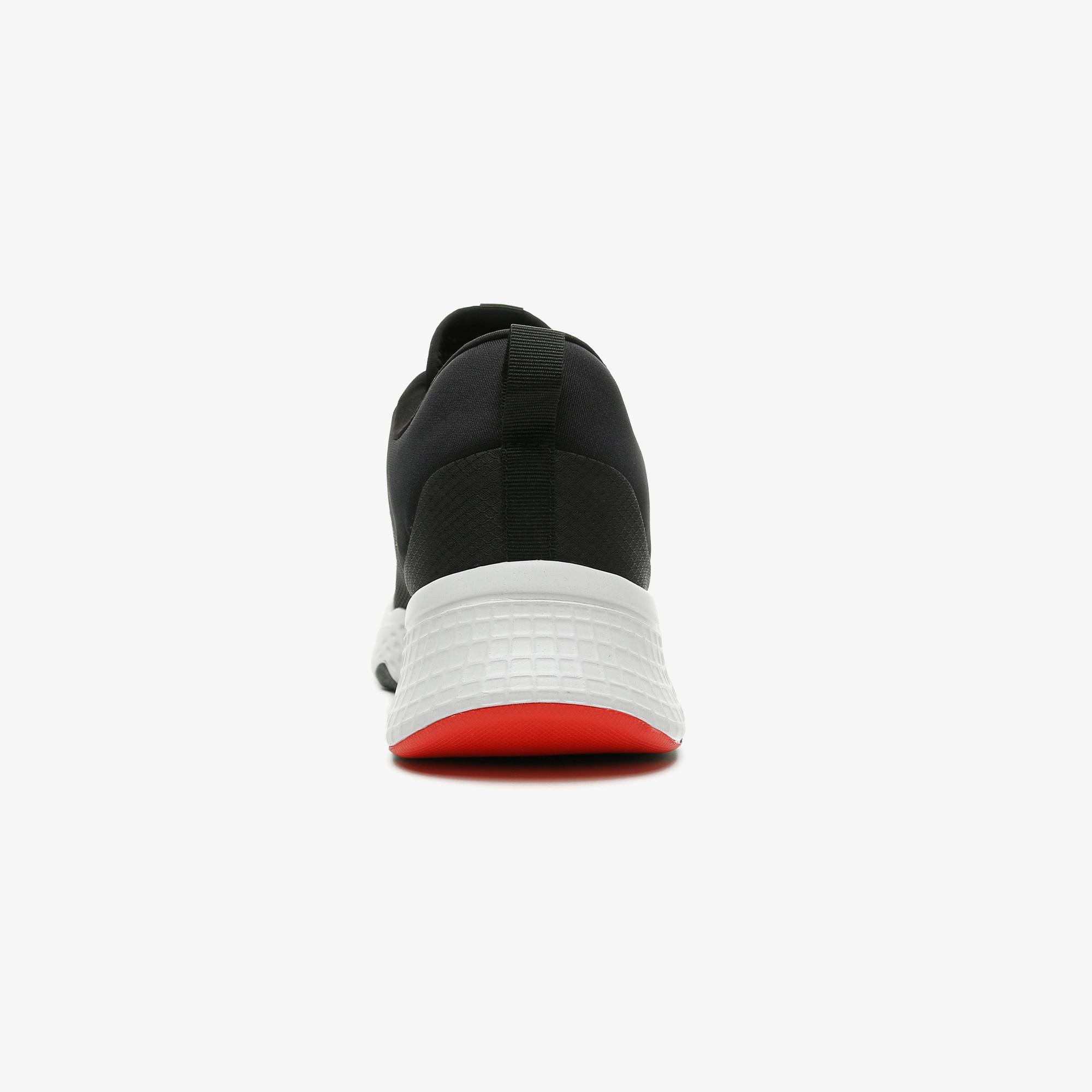 Lacoste Court-Drive 0721 1 Sma Erkek Siyah - Kırmızı Spor Ayakkabı