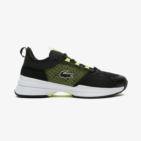 Lacoste Ag-Lt21 0921 1 Sma Erkek Beyaz - Sarı Spor Ayakkabı