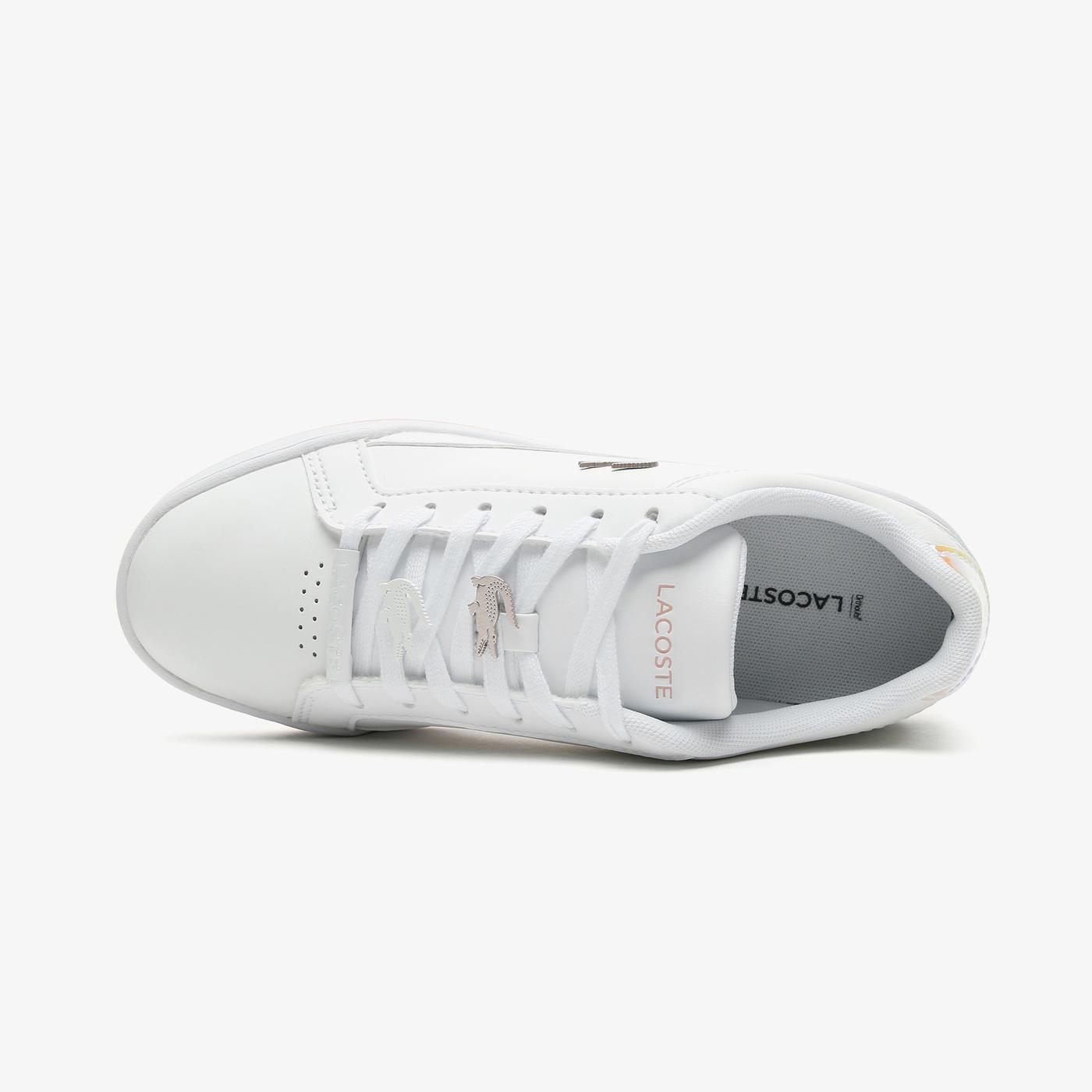 Lacoste Challenge 0921 1 Sfa Kadın Beyaz - Açık Pembe Spor Ayakkabı