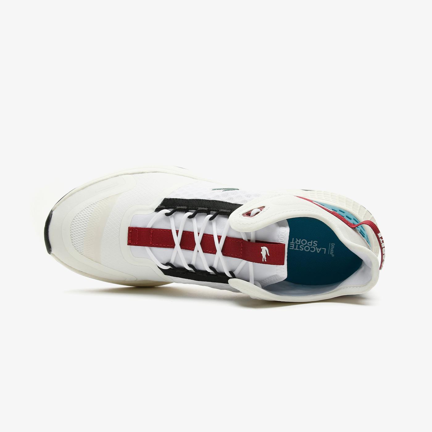 Lacoste Court-Drivevntge09211Sma Erkek Beyaz - Turkuaz Spor Ayakkabı