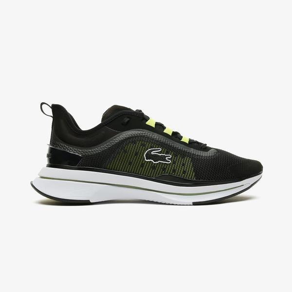 Lacoste Run Spin Ultra 0921 1 Sma Erkek Siyah - Sarı Spor Ayakkabı