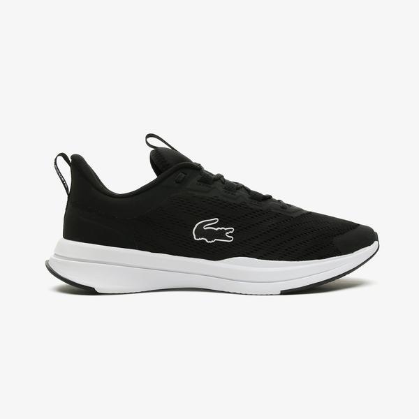 Lacoste Run Spin 0721 1 Sma Erkek Siyah - Beyaz Spor Ayakkabı