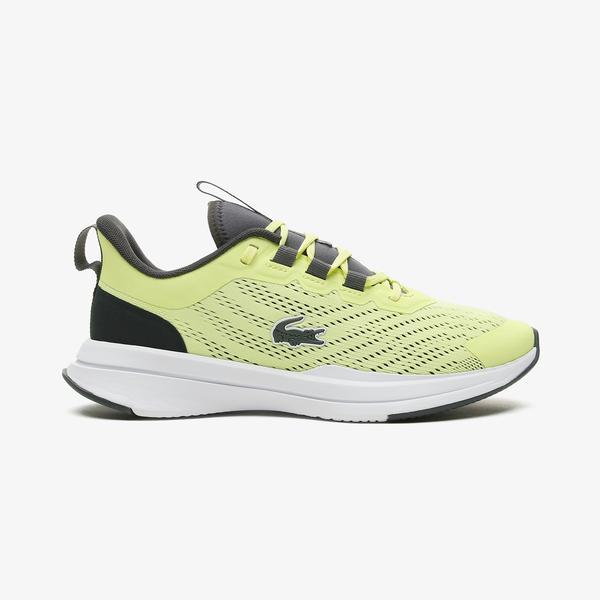 Lacoste Run Spin 0721 1 Sfa Kadın Sarı - Beyaz Spor Ayakkabı