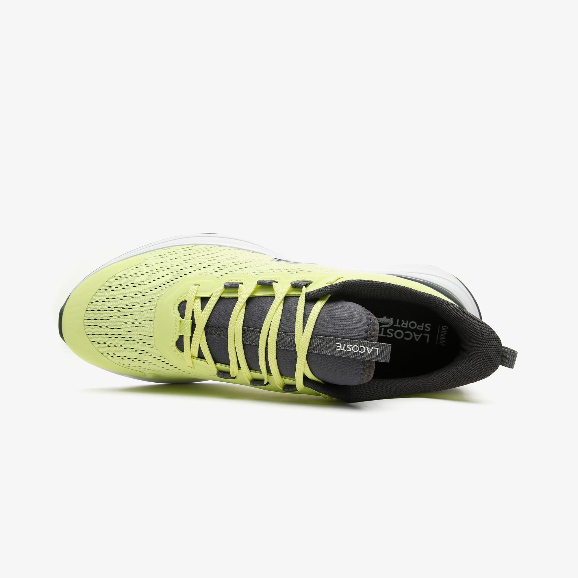 Lacoste Run Spin 0721 1 Sma Erkek Sarı - Beyaz Spor Ayakkabı
