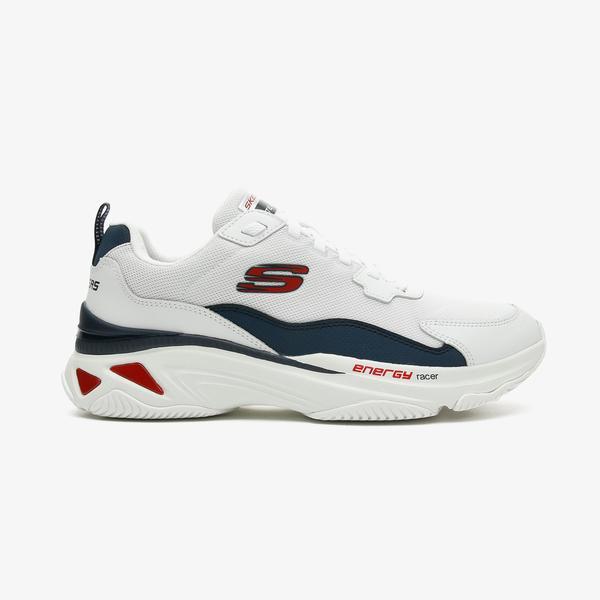 Skechers Energy Racer - Vinton Erkek Beyaz Spor Ayakkabı