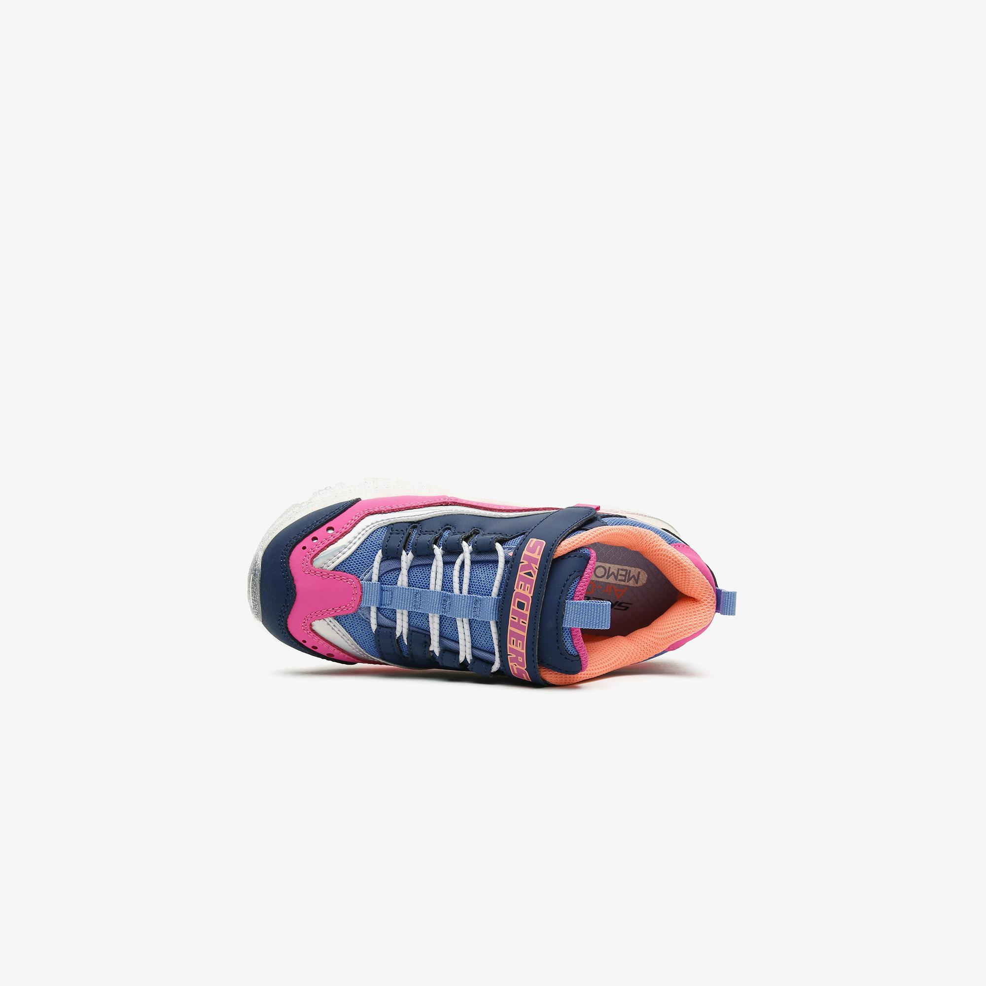 Skechers D'Lites - Electric Coloring Çocuk Lacivert Spor Ayakkabı
