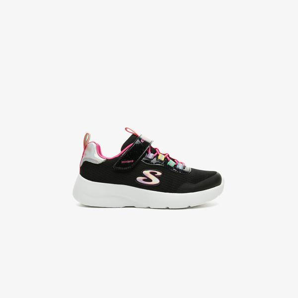 Skechers Dynamight 2.0-Rockin' Rainbow Çocuk Siyah Spor Ayakkabı