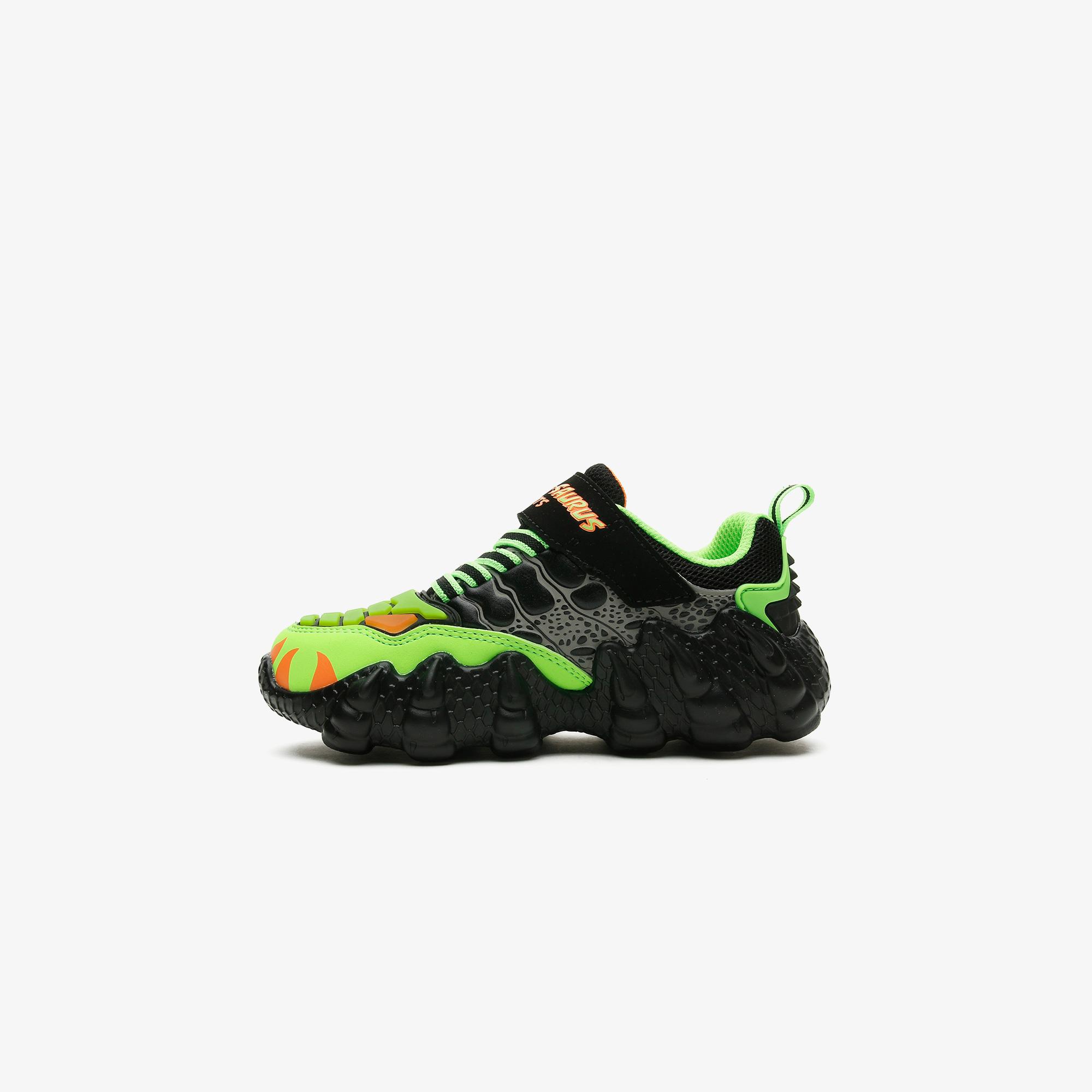 Skechers Skech-O-Saurus Lights Çocuk Siyah Spor Ayakkabı