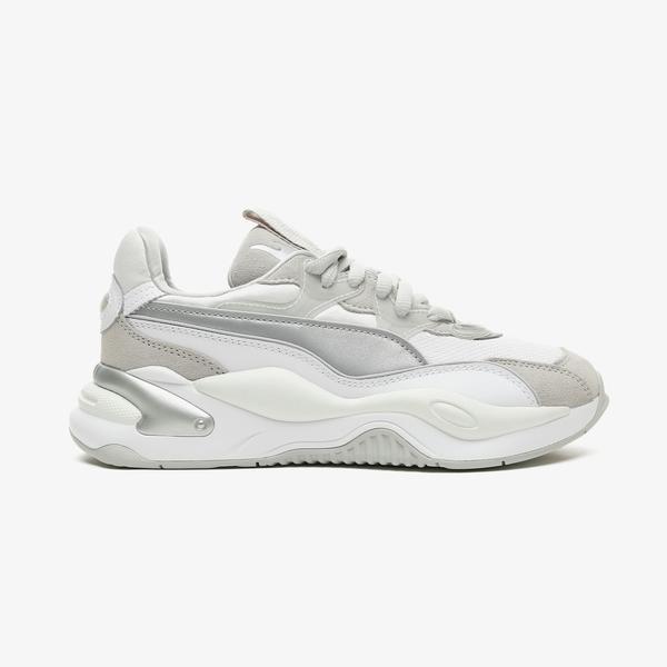 Puma RS-2K Metallic Kadın Beyaz Spor Ayakkabı