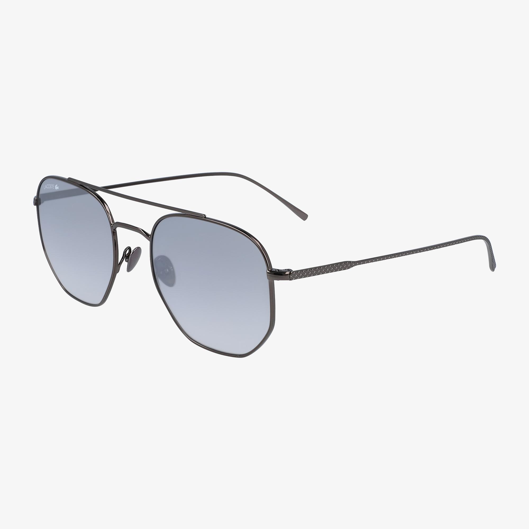 Lacoste Square Unisex Mavi Güneş Gözlüğü