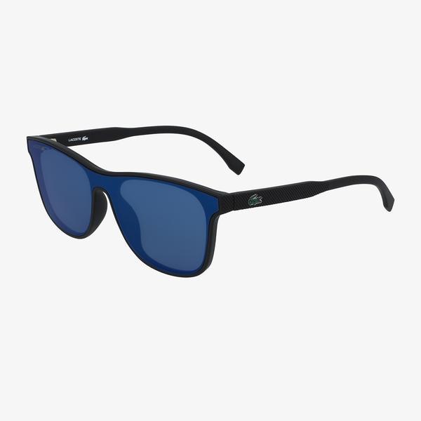 Lacoste Shield Çocuk Siyah Güneş Gözlüğü