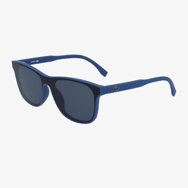 Lacoste Shield Çocuk Mavi Güneş Gözlüğü