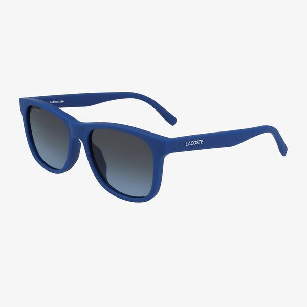 Lacoste Rectangle Çocuk Mavi Güneş Gözlüğü