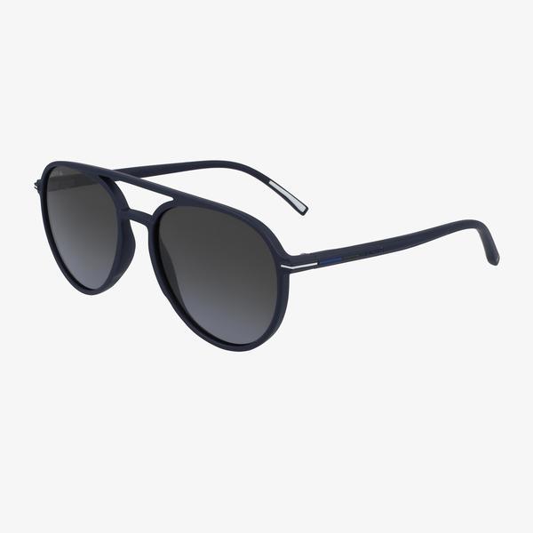 Lacoste Aviator Erkek Mavi Güneş Gözlüğü