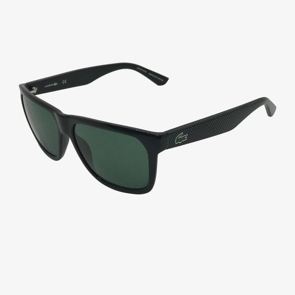 Lacoste Rectangle Erkek Siyah Güneş Gözlüğü